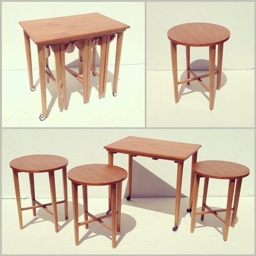 Carlo Jensen Nesting Tables