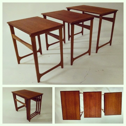 B.C. Mobler Nest of Tables