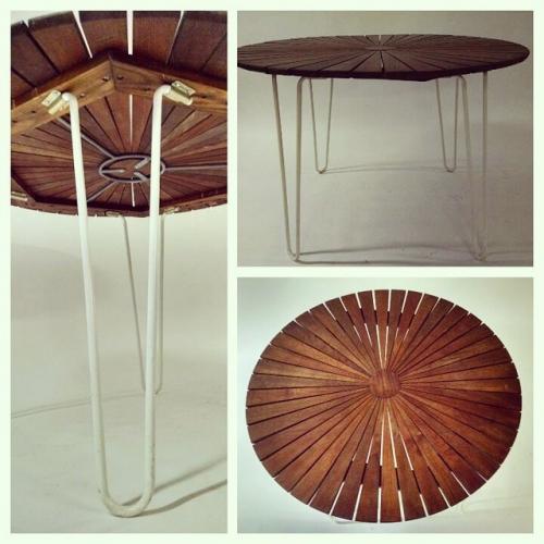 Danish Starburst Table