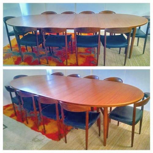 Arne Vodder Oval Dining Table