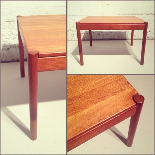 Solid Teak Magnus Olesen Side Table
