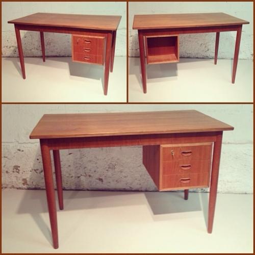 60s Danish Teak Desk