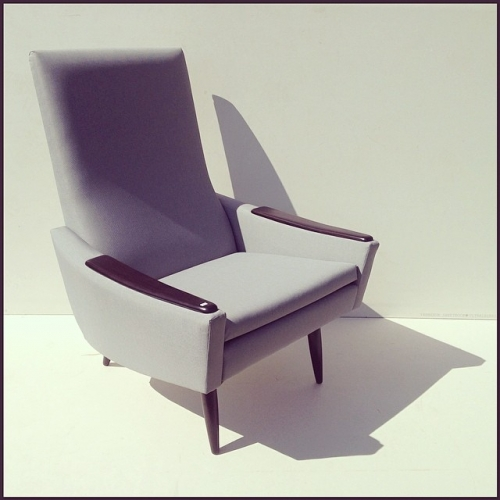 High Back Lounge Chair