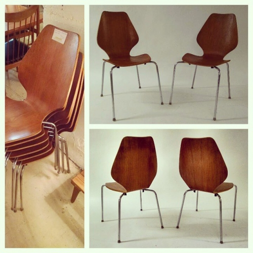 x6 Jacobsen Style Chairs