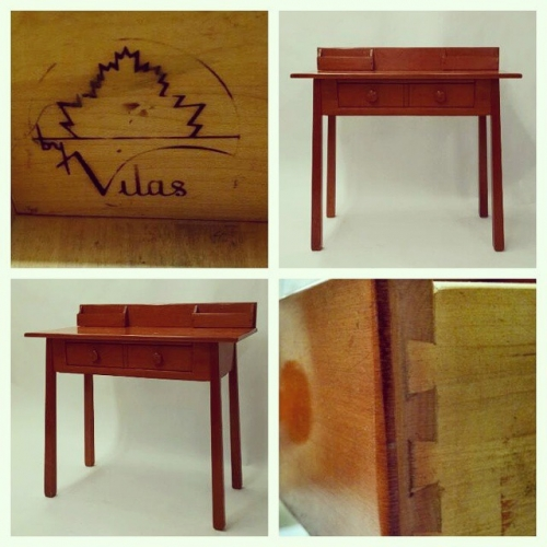 Vilas Solid Maple Desk