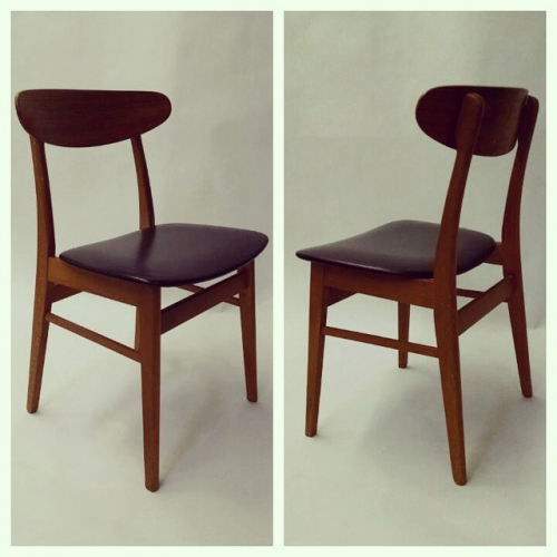 Set of 4 Danish Side Chairs