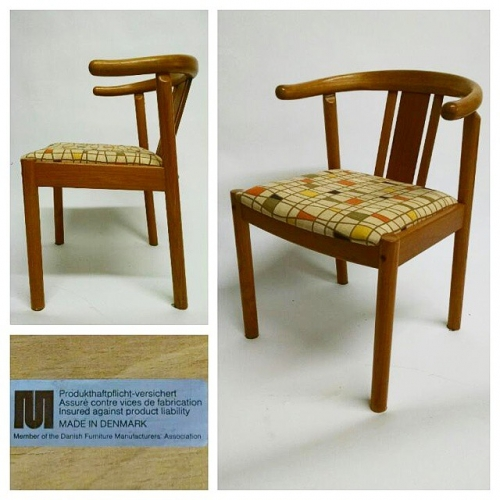 Wegner Style Occasional Chair