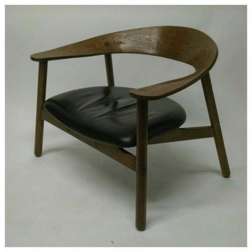 Dark Oak Lounge Chairs