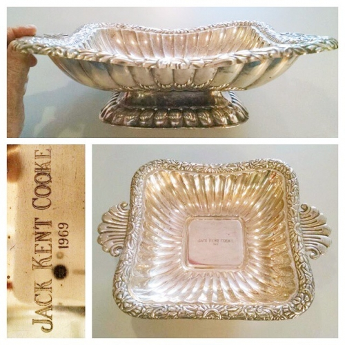 Jack Kent Cooke Silver Tray
