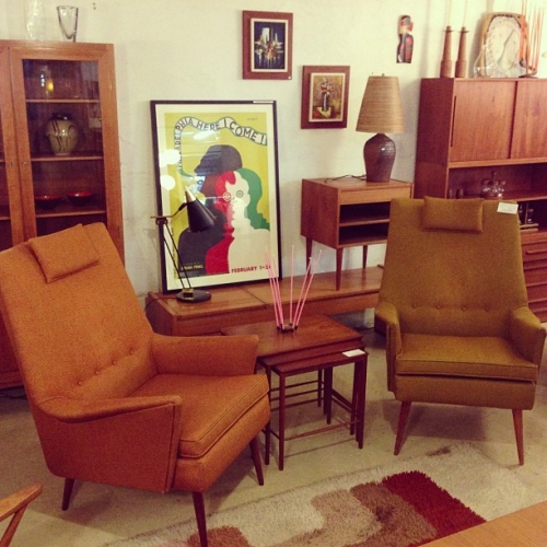 Matching 60's Canadian Armchairs