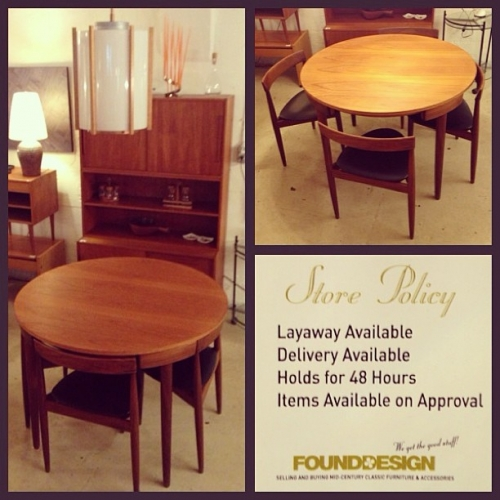 Olsen 4-Chair Dining Set