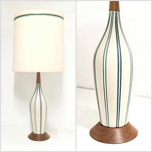 Ceramic Devonware Table Lamps