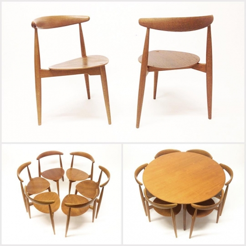 Hans Wegner Heart Set