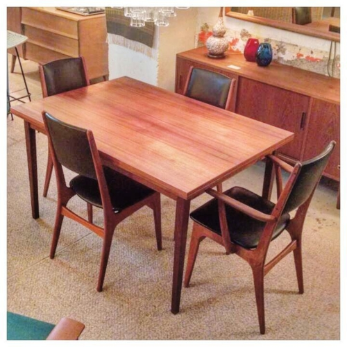 Punch Dining Table and 4 Chairs