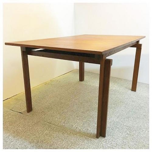 Solid Teak Table by Inger Klingenberg