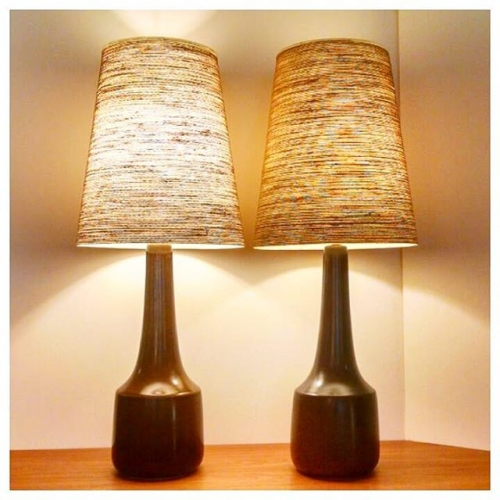 Pair of Lotte Lamps