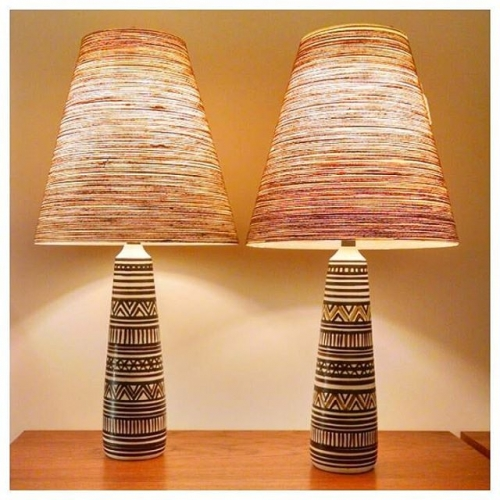 Pair Lotte Lamps