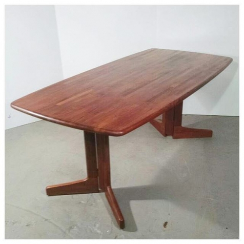 Solid Plank Teak Table