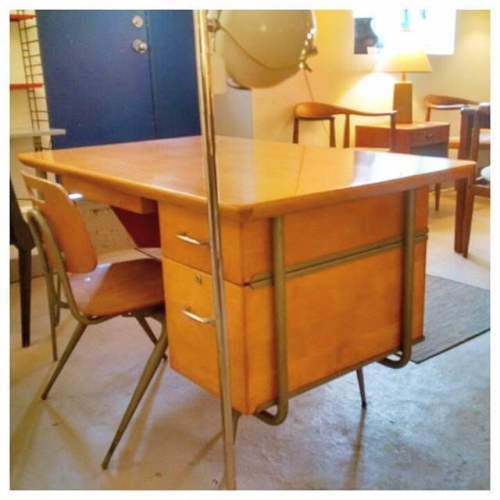 Loewy Desk with Chair