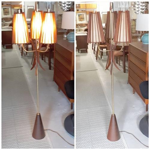 60s Floor Lamp