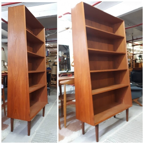 Slope Front Bookcase