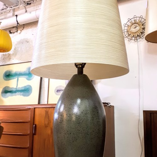 Lotte Lamp in Frogskin Glaze
