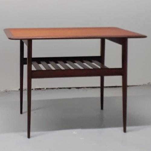 Slat Shelf Table