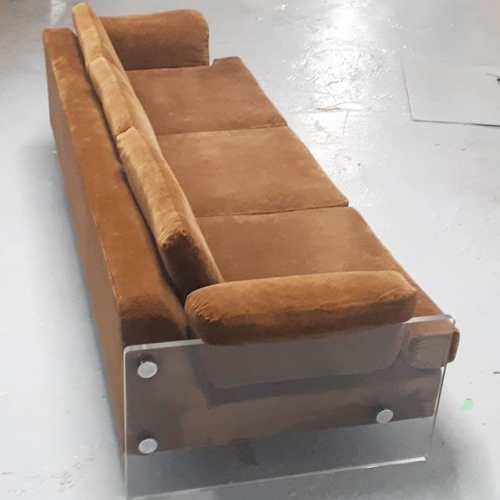 Acrylic Arm Sofa