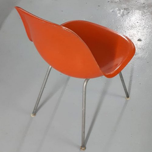 Orange Eames Side Shell