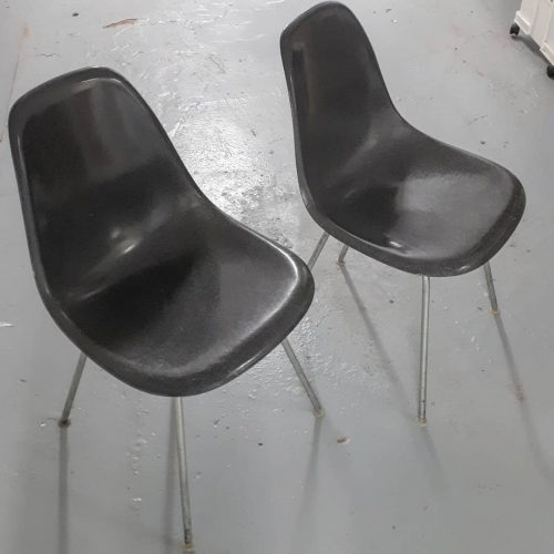 Charcoal Eames Side Shells