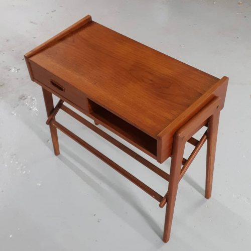 Teak Telephone Table