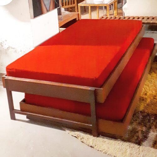 Teak Trundle Bed