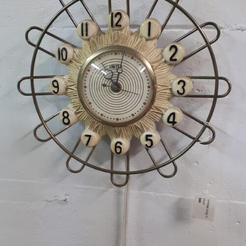 1950s Wall Clock