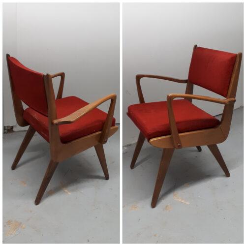 Danish Birch Chairs
