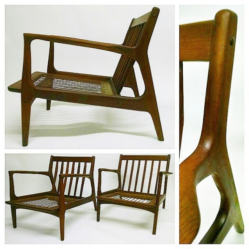 Pair of Ib Kofod-Larsen Chairs
