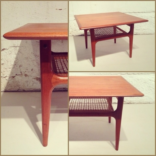 x2 Teak Coffee Tables by Trioh, Denmark