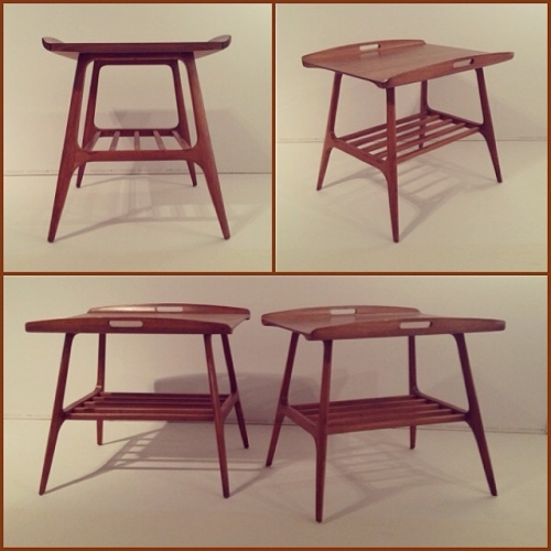 Pair of Canadian-Made End Tables