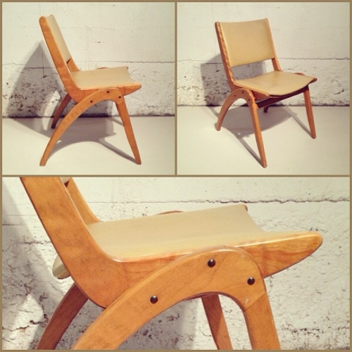 Birch Stacking Chair by Henderson