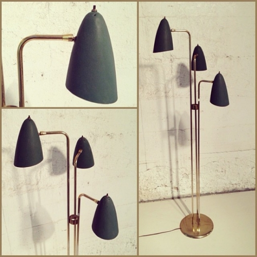 60s Brass Floor Lamp