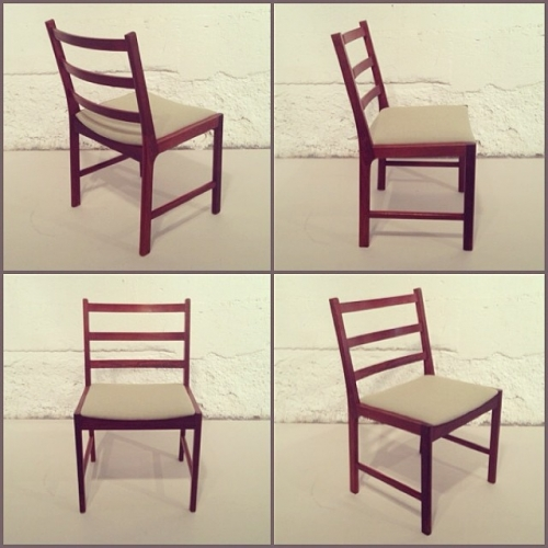 x4 Rosewood Dining Chairs