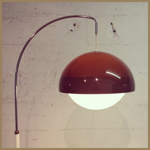 1970s Arc Lamp